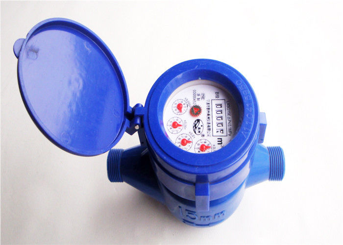 ABS Plastic Multi jet Wet-Dial Cold Water Meter 15mm LXS-15EP